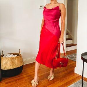 Cushnie for Target Colorblock Slip Dress NWT